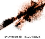 red brown flash abstract... | Shutterstock . vector #512048026