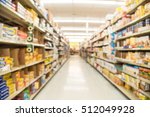 blurred image of storage bags ... | Shutterstock . vector #512049928