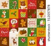 advent christmas vector... | Shutterstock .eps vector #512057878