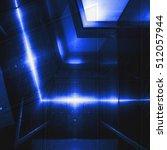blue aluminum surface.... | Shutterstock . vector #512057944