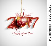 happy new year background with... | Shutterstock .eps vector #512060260