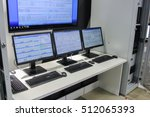 monitors and servers. st.... | Shutterstock . vector #512065393