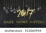 new year 2017 project | Shutterstock . vector #512065954