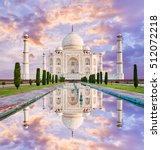 Amazing View On The Taj Mahal...