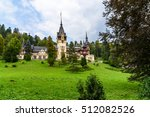 neo renaissance peles castle... | Shutterstock . vector #512082526