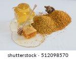 High Angle Of A Honeycomb A...