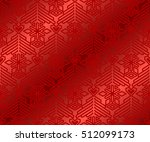 christmas abstract seamless... | Shutterstock .eps vector #512099173