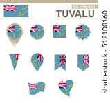 tuvalu flag collection  12...