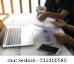 business graph information... | Shutterstock . vector #512100580