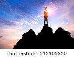 business success concept...   Shutterstock . vector #512105320