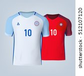 color soccer t shirts of... | Shutterstock .eps vector #512107120