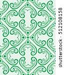 abstract artistic seamless... | Shutterstock .eps vector #512108158