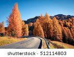 fantastic sunny view of... | Shutterstock . vector #512114803
