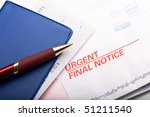 close up of check book over a... | Shutterstock . vector #51211540