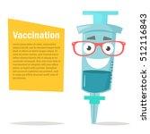 illustration of a syringe.... | Shutterstock .eps vector #512116843
