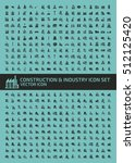industry and construction icon... | Shutterstock .eps vector #512125420