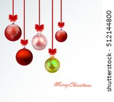 christmas decorations.christmas ... | Shutterstock .eps vector #512144800