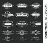 set of creative vector...   Shutterstock .eps vector #512149024