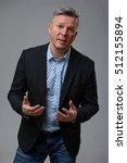 portrait of handsome senior...   Shutterstock . vector #512155894