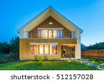 Beautiful Wooden House With A...