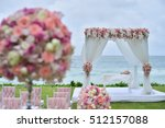 wedding setup | Shutterstock . vector #512157088