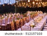 wedding setup | Shutterstock . vector #512157103