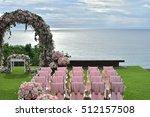 wedding setup | Shutterstock . vector #512157508