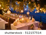 wedding setup | Shutterstock . vector #512157514