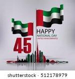 united arab emirates national...   Shutterstock .eps vector #512178979