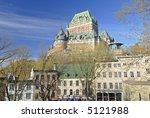 Quebec City View - stock photo