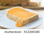 Bread With Filmy Milk Tea On...