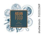 vector asian food illustration. ...   Shutterstock .eps vector #512212369