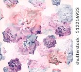 rose pattern  seamless pattern... | Shutterstock . vector #512216923
