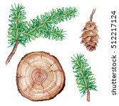 watercolor illustration ... | Shutterstock . vector #512217124