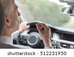 man taking drugs while driving...   Shutterstock . vector #512231950