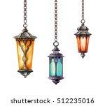 watercolor illustration ... | Shutterstock . vector #512235016