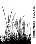 Grass / vector / silhouette. Ideally for your use - stock vector