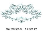 scroll frame   vector   art... | Shutterstock .eps vector #5122519