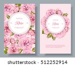 vector rose natural cosmetic... | Shutterstock .eps vector #512252914
