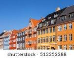 colored houses  copenhagen ...   Shutterstock . vector #512253388