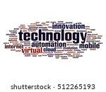 vector concept or conceptual... | Shutterstock .eps vector #512265193