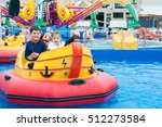 beautiful children having fun... | Shutterstock . vector #512273584