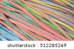 colorful fruit jelly and... | Shutterstock . vector #512285269
