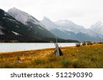 canada rocky mountains  canmore | Shutterstock . vector #512290390