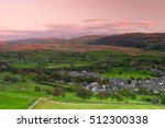 sedbergh is a small town and...   Shutterstock . vector #512300338