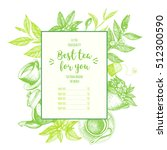 vector illustration for tea... | Shutterstock .eps vector #512300590