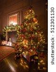 calm image of interior classic... | Shutterstock . vector #512301130