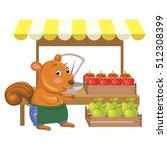 vector illustration of cartoon... | Shutterstock .eps vector #512308399
