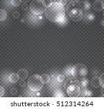 bokeh light gray sparkles on... | Shutterstock .eps vector #512314264