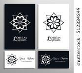 black and white design element  ...   Shutterstock .eps vector #512334349